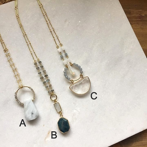I've Got The Blues For You Necklaces