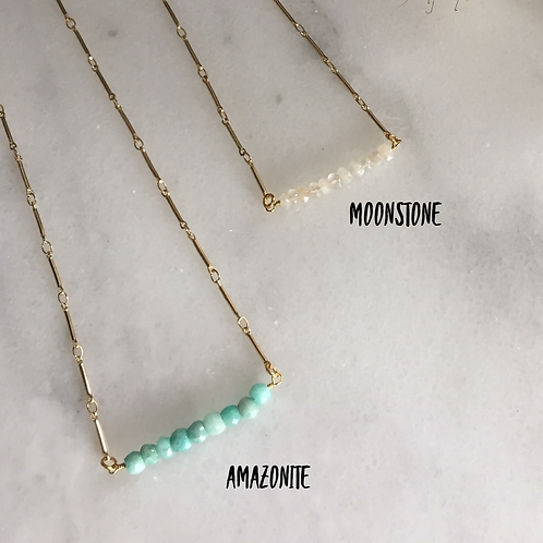 Shorty Baby Bar Necklace