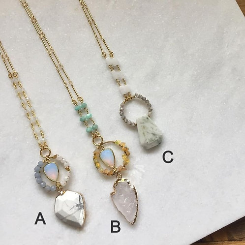Shimmer Baby Necklaces