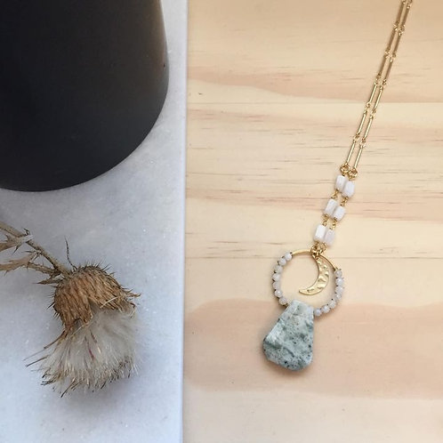 Over The Moon For You Necklace