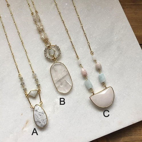 Delighted In Love Necklaces