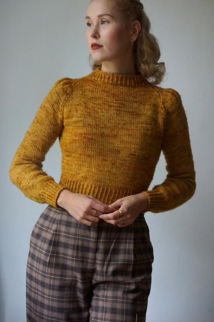 "Diagon Alley Jumper knit in FK Elder ""Ph"