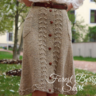 Forest Berry Skirt