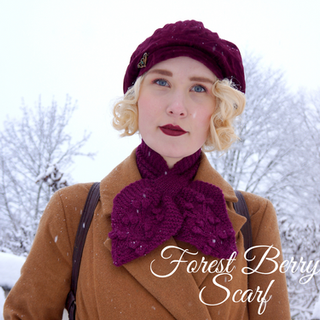 Forest Berry Scarf