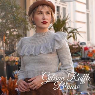 Gibson Ruffle Blouse
