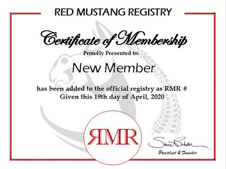 New Member Update - April 19, 2020