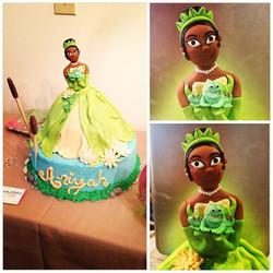 Princess Tiana Cake.jpg