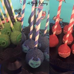 PJ mask cake pops