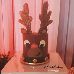 rudollph cake