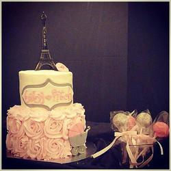 Paris baby shower cake and cake pops.jpg