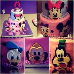 Minnie and Friends cake.jpg
