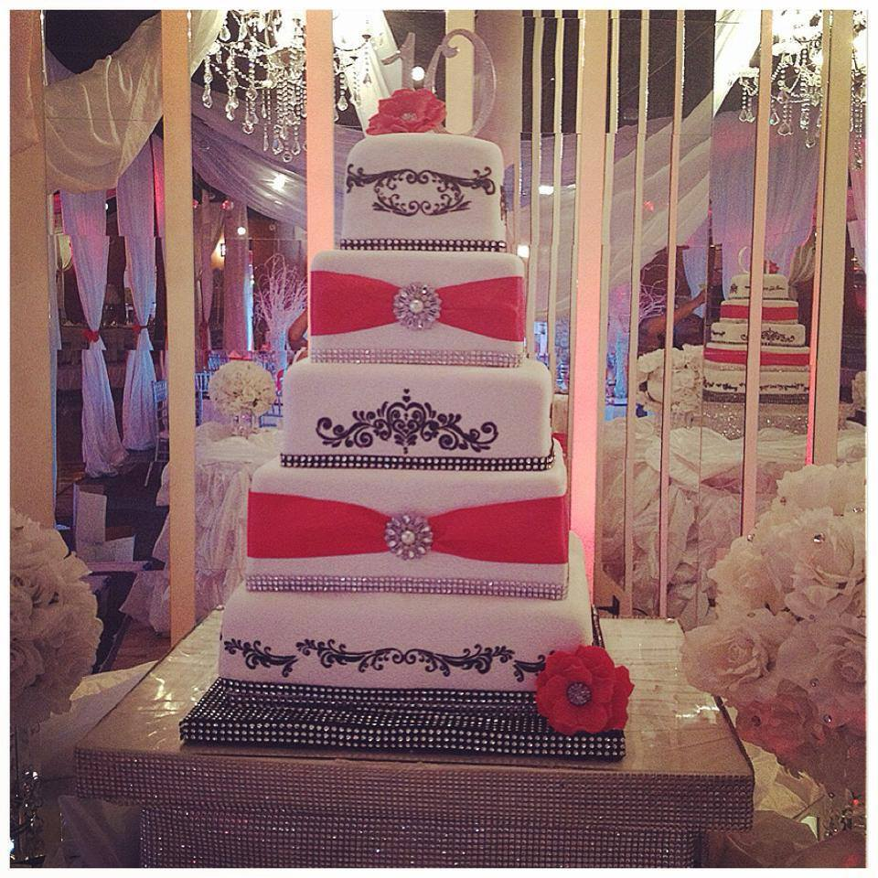 black, red and white wedding cake.jpg