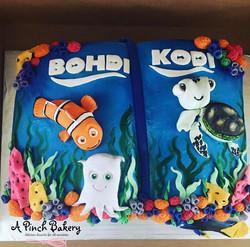 nemo book cake
