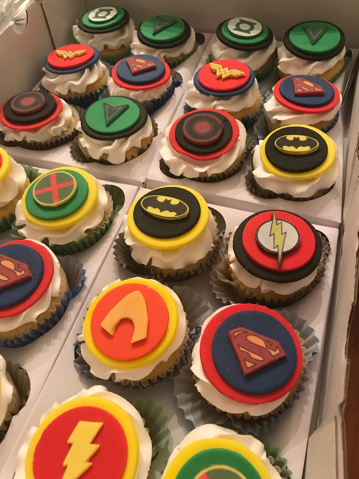 justice league sugar cookies