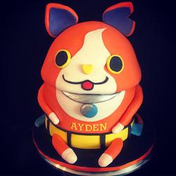 cat anime cake