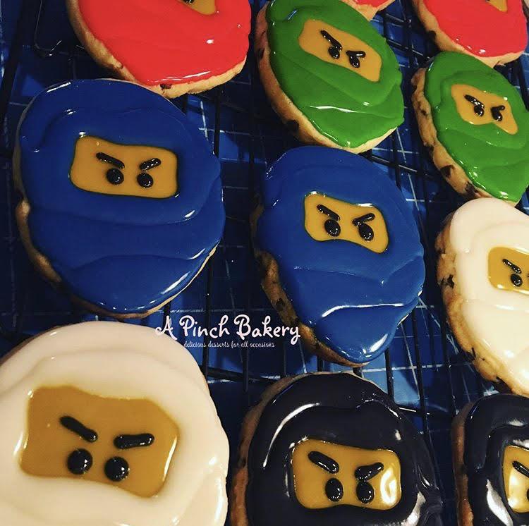 ninjago sugar cookies