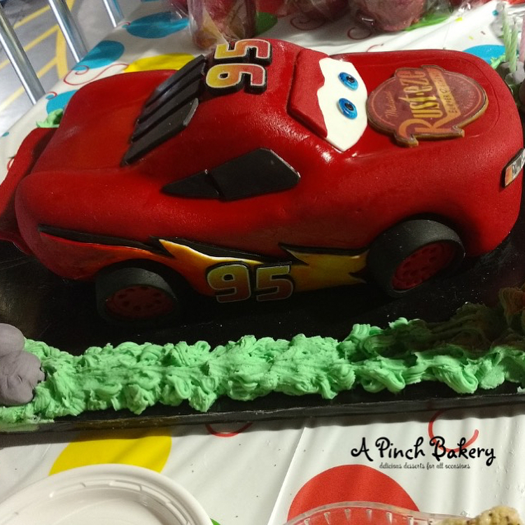 lightening mcqueen caje