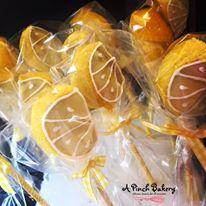 lemon cake ppops