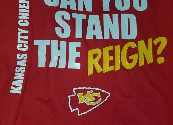 CAN YOU STAND THE REIGN