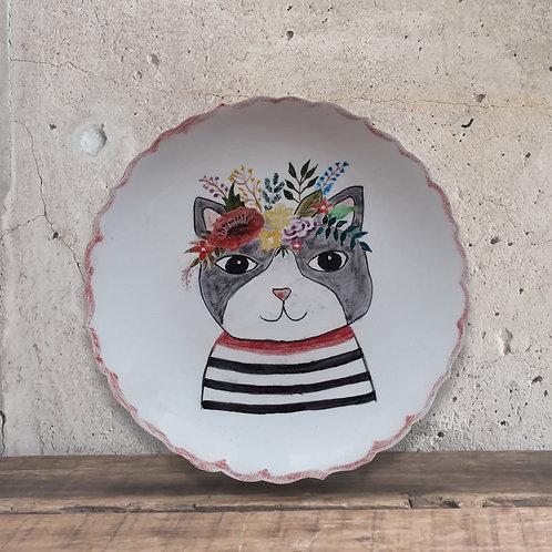 Tabak Boyama Tekniği Kedi