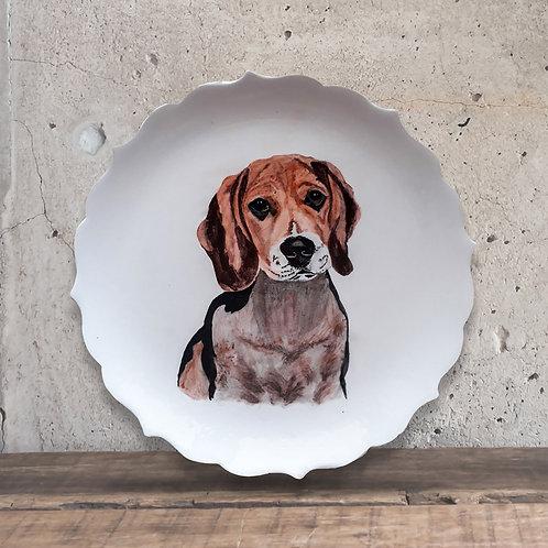 Tabak Boyama Tekniği Köpek
