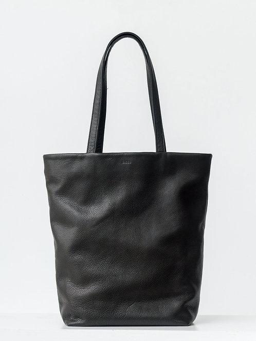 Askılı Deri Çanta Siyah