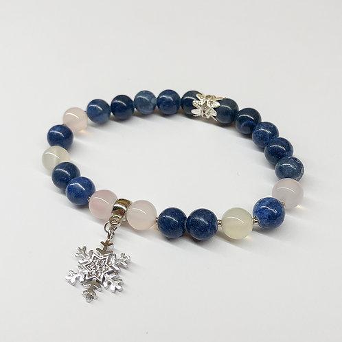 Lapis Lazuli ve Akik Doğal Taş Bileklikleri