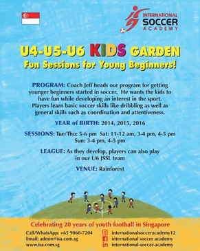 More training options for your child....