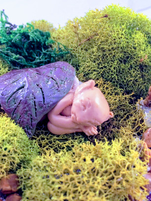 Sleeping Fairy Baby
