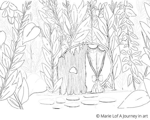 Would a fairy live in a terra-cotta pot?