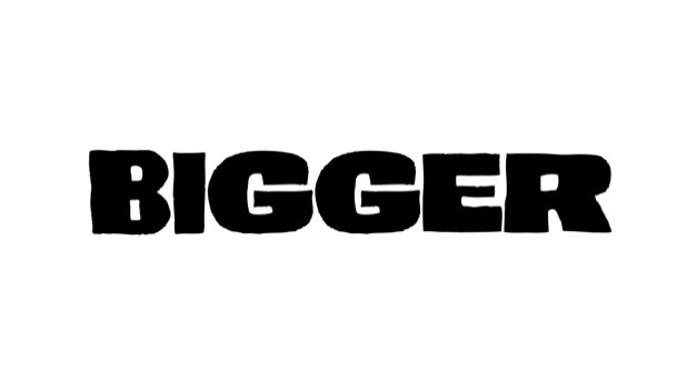 Bigger — нейминг рэп-н-ролл группы