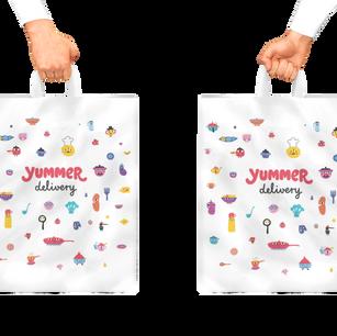 Yummer plastic bags