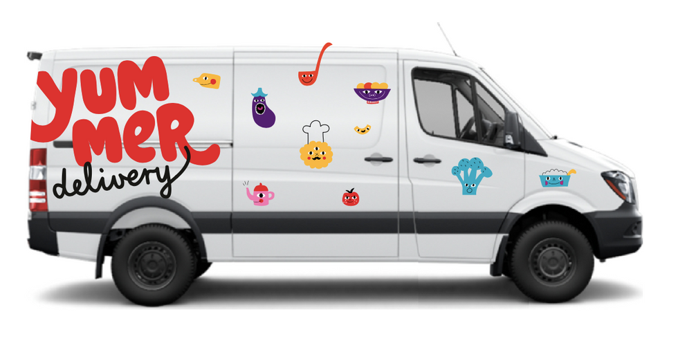 Yummer delivery car