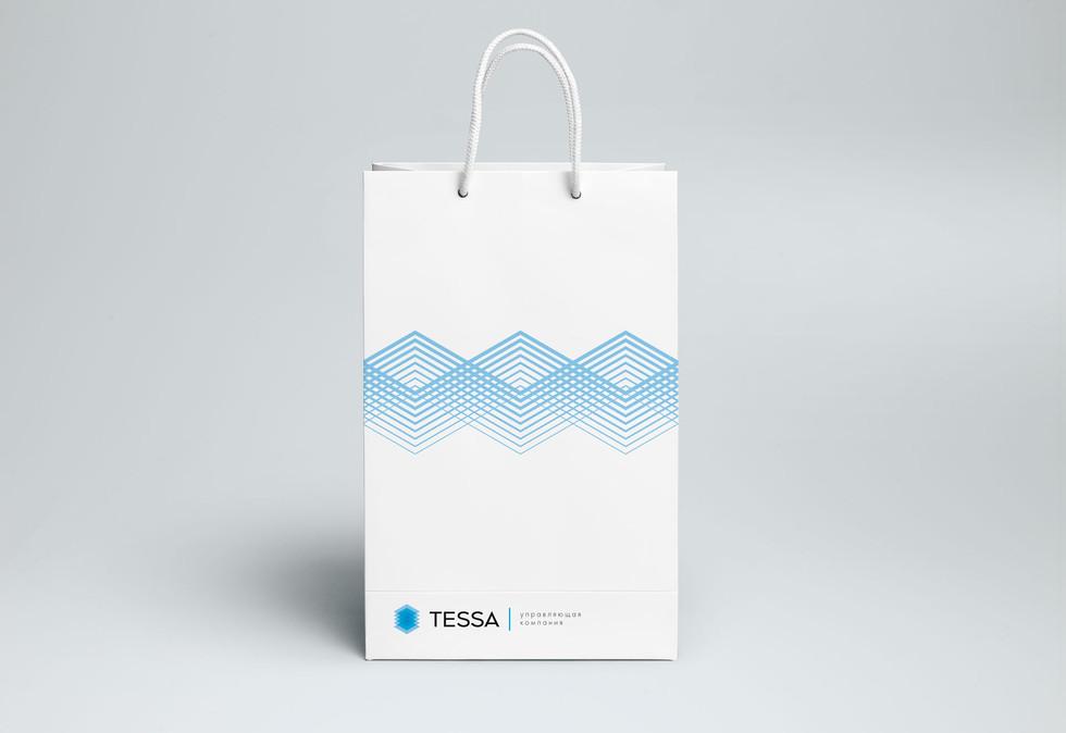 Бумажный пакет TESSA