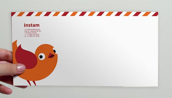 Почтовый конверт Instam