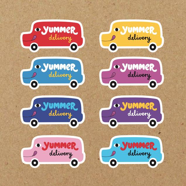 Yummer stickers