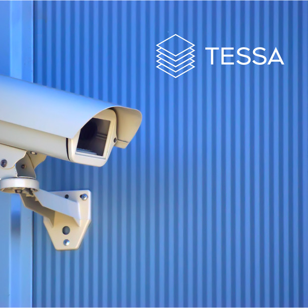 TESSA расположение логотипа