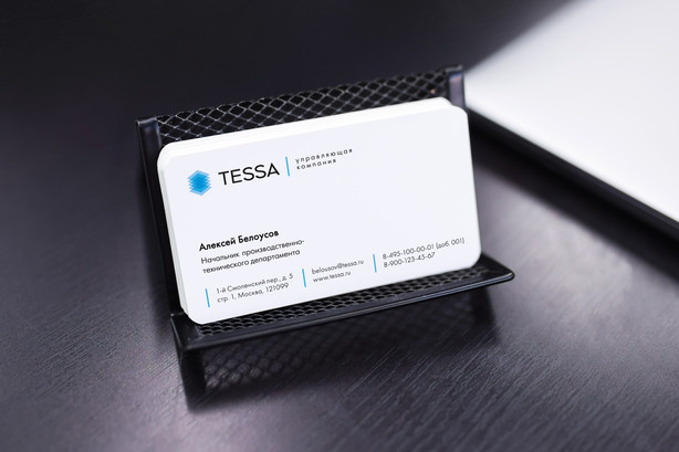 Визитные карточки TESSA
