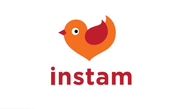 Логотип Instam