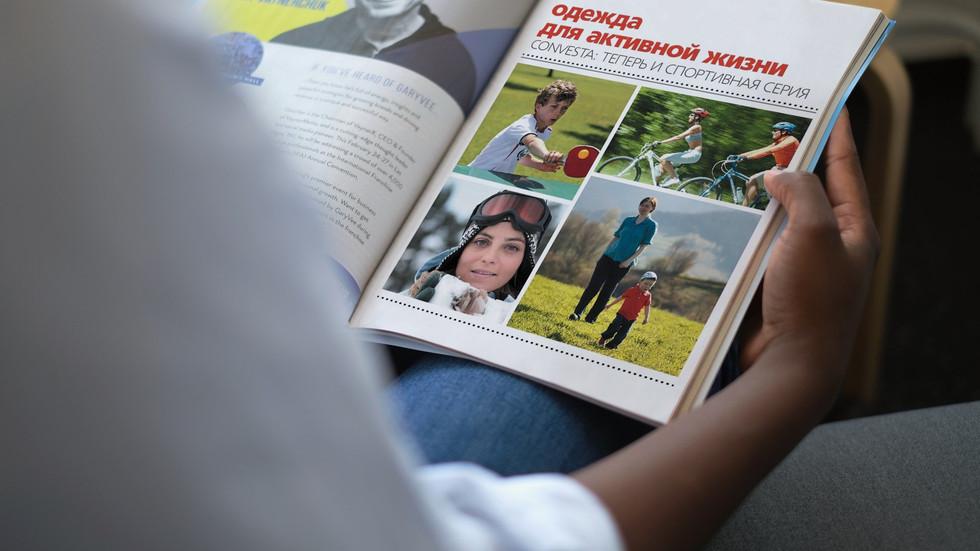 Convesta sport catalogue cover