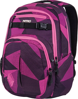 Rucksack CHASE Fragments Purple