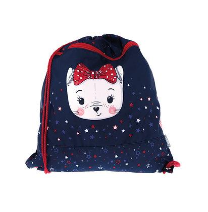 Kindergarten-Turnbeutel Cute Cat