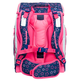 Ergonomischer Schulrucksack Flexy-Bag Neon-Edition Pink Fairy