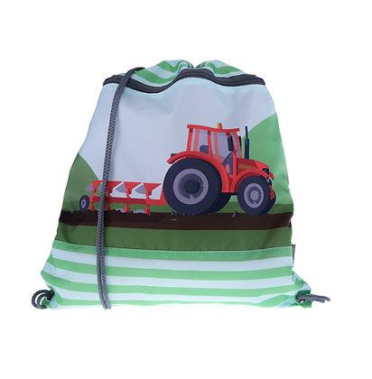 Kindergarten-Turnbeutel Red Tractor
