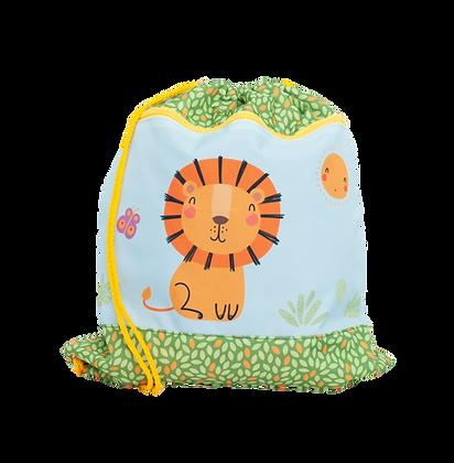 Kindergarten-Turnbeutel Happy Lion
