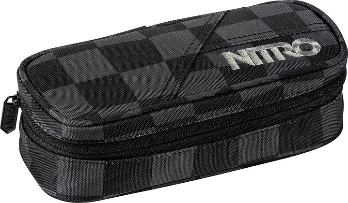 Schuletui Black Checker
