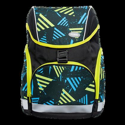 Slim-Bag Striped Triangles