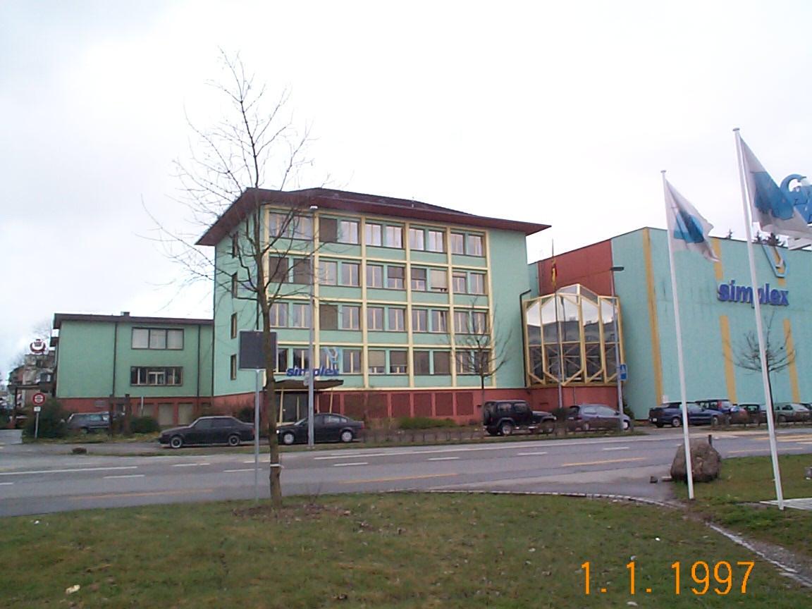 Siège social à Zollikofen après la quatrième phase de construction