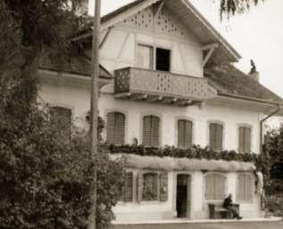 Erster Sitz in Erlach