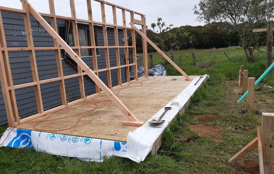 Cabin build
